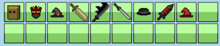 Post your inventory. Fedinvlv70